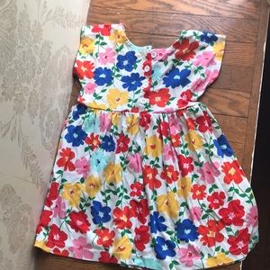 Hanna Andersson Dresses - Hanna Andersson 100 Bright Floral Dress